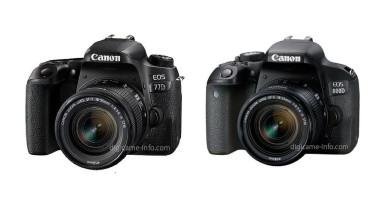 Canon EOS 77D•800D 入門單眼雙雄諜照曝光 搭載雙像素對焦現身