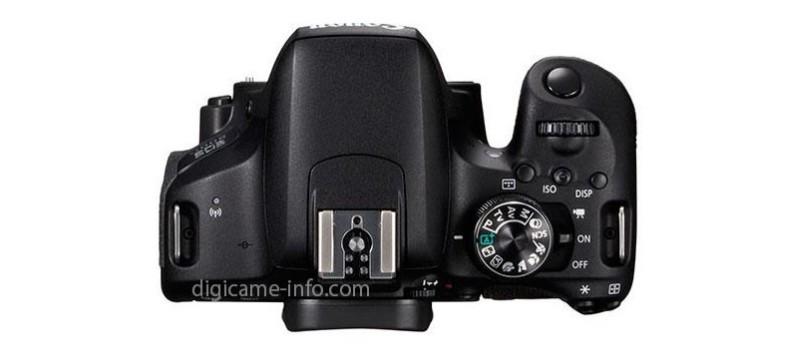 Canon EOS 800D 機頂設有一組快速轉盤