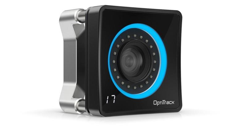 Oculus 手套是藉由上圖的 OptiTrack Prime 17W 相機來感知用戶的手指動作。