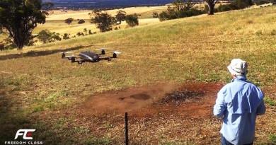30 公斤巨型穿越機 Freedom Class 誕生!引領無人機競賽進入新境界