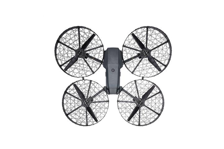 Mavic Pro 加上螺旋槳保護罩(全封閉版)後,是否有點像蝴蝶?