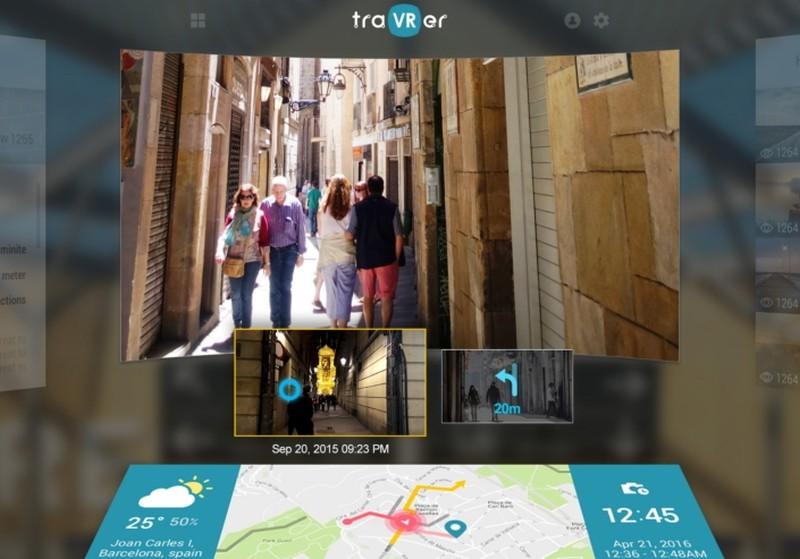 traVRer 嚴格來說是一個旅遊影像內容平台,可讓人飽覽世界各地的 360 度影片。