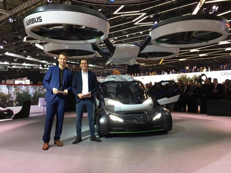 Airbus Pop.Up - 日內瓦國際汽車展