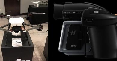 DJI 傳推 1 億像素航拍機 內置哈蘇感光元件 強攻空中測繪