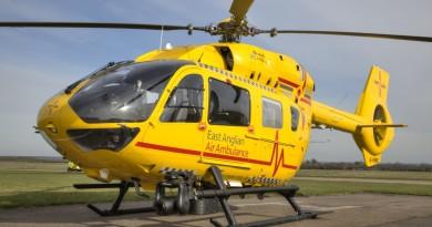 威廉王子曾執勤的救援直升機 1900 呎高空險撞無人機!