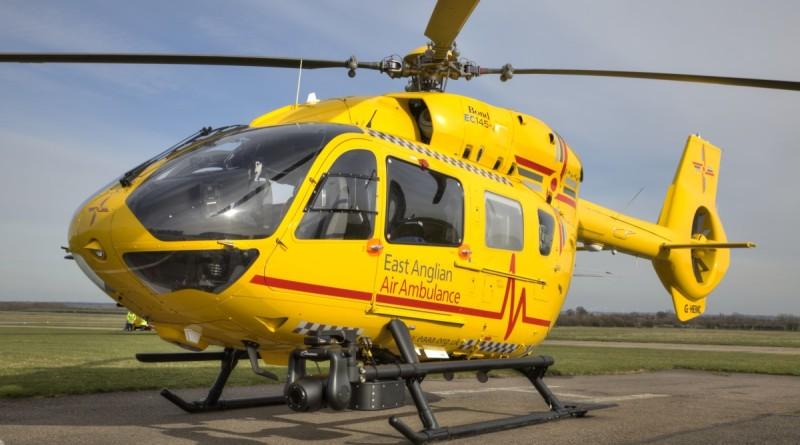 威廉王子曾執勤的救援直升機 1900 呎高空險撞無人機