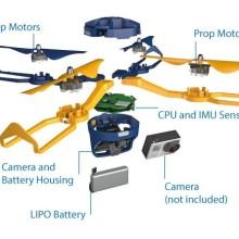 Fotokite Phi drone structure