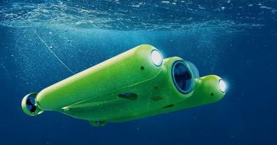 Gladius 水中無人機亮麗現身 深潛百米帶你窺探 4K 海底世界