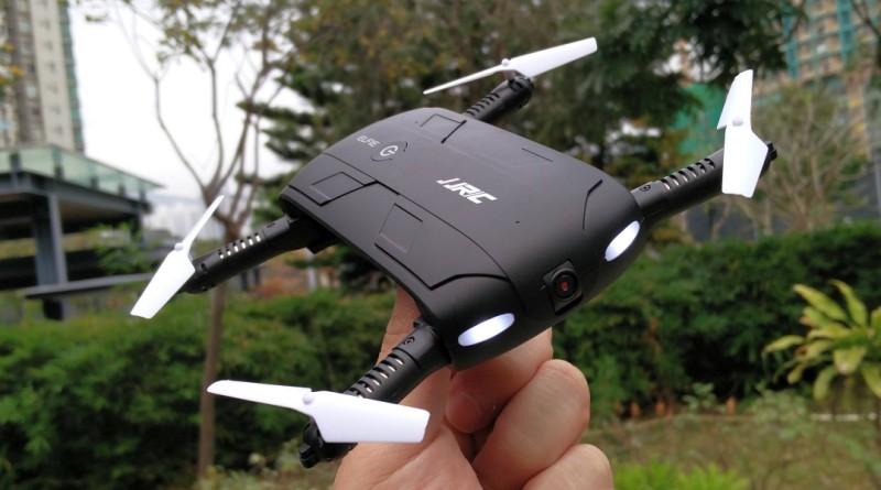 全球最便宜的折疊無人機 JJRC H37 航拍性能完全評測