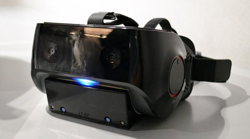 Qualcomm VRDK 頭顯內置 Leap Motion 模組