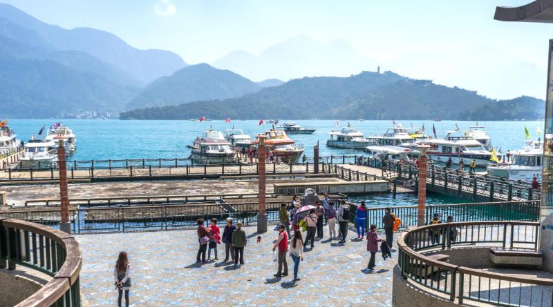 台灣日月潭水社碼頭
