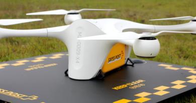 瑞士郵政定期試飛送貨無人機 擬 2018 年補足現有包裹快遞