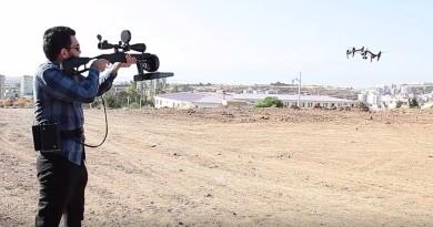 土耳其反無人機電磁槍 Drone Killer 擾亂空拍機訊號強制降落