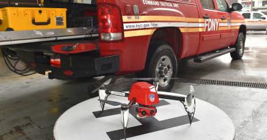 紐約消防無人機首度出動 紅外線空拍火場輔助指揮滅火