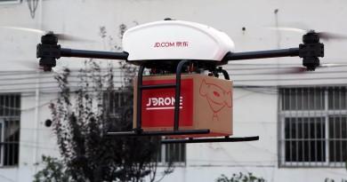 京東擬在陝西設三級智慧物流網路 支援送貨無人機最後一哩路