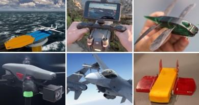 【一周熱話】6 台奇葩無人機大盤點 #3 飛行器功用最讓人意想不到