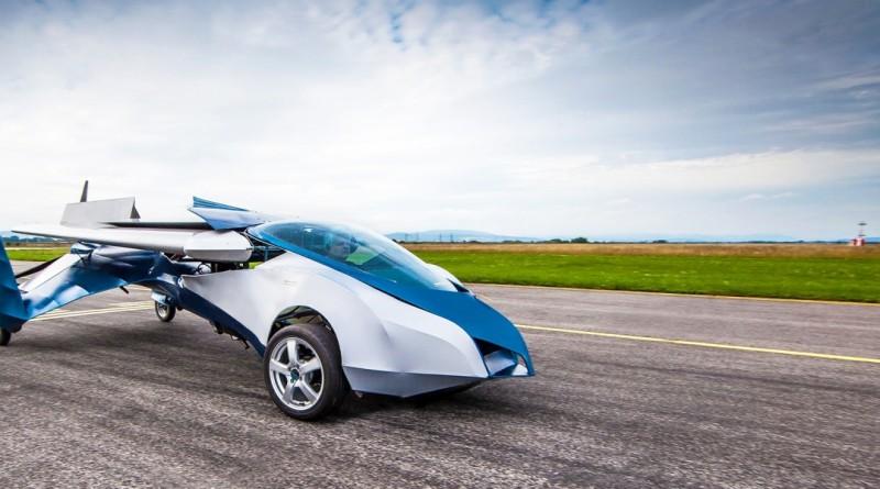 AeroMobil 陸空兩棲飛天汽車具折疊式機翼