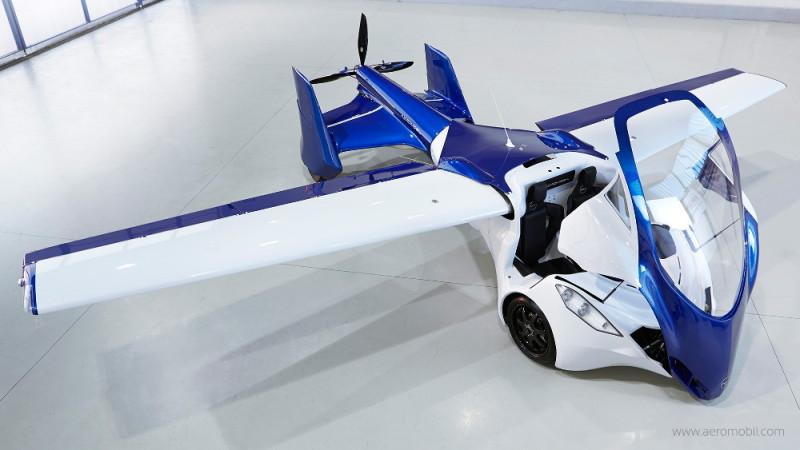 AeroMobil 3.0 - 飛機模式