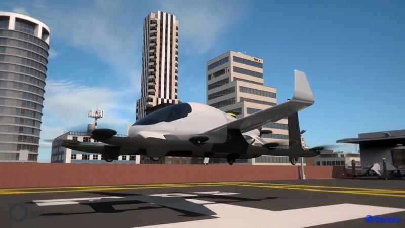 Aurora Flight Sciences' Electric VTOL Aircraft 概念影片