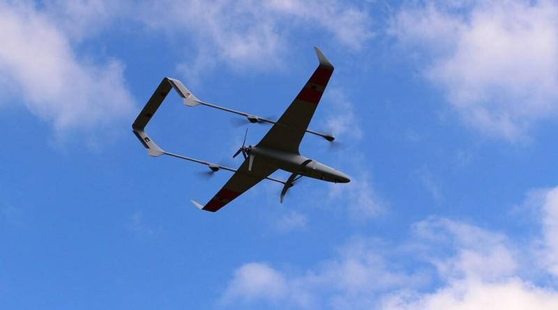 Carbonix Volanti 混合翼無人機可垂直起降