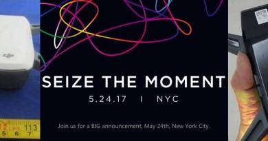 DJI Spark 無人機 5 月 24 日紐約亮相?大疆發布會邀請函露端倪!