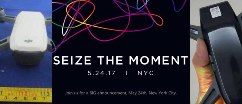 DJI Seize the Moment 發布會,估計 DJI Spark 將亮相