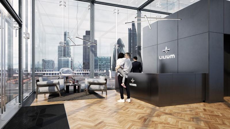 Lilium Jet 候機室