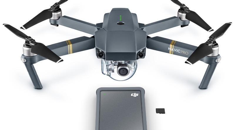Seagate DJI Fly Drive 及 DJI Mavic Pro