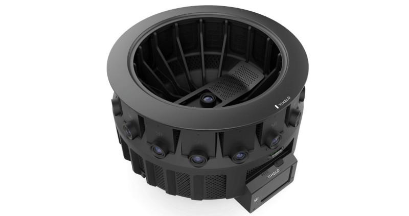 Yi Halo 機身四周鑲嵌著 16 部小蟻 4K 運動相機環繞而成,旁邊亦設有屏幕可讓用戶監控電量和儲存容量。