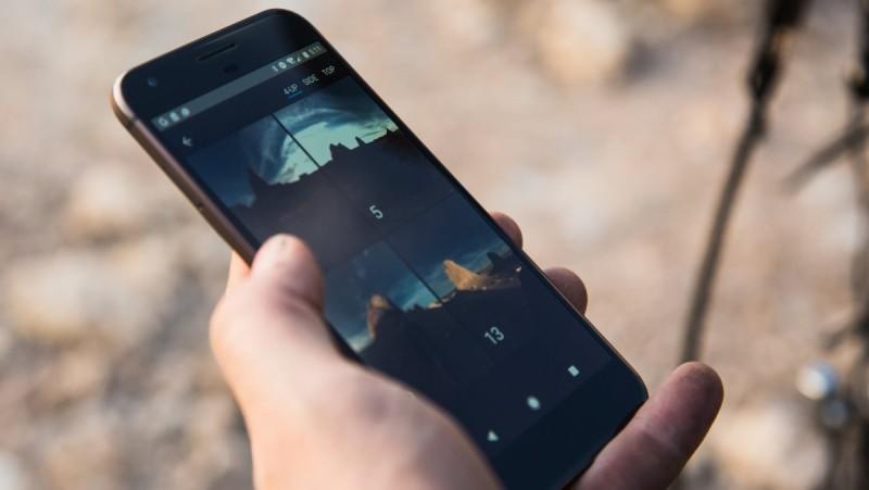 用戶可通過 5GHz Wi-Fi 網路,藉由 Android 手機遠端操作 Yi Halo 環景攝影機。