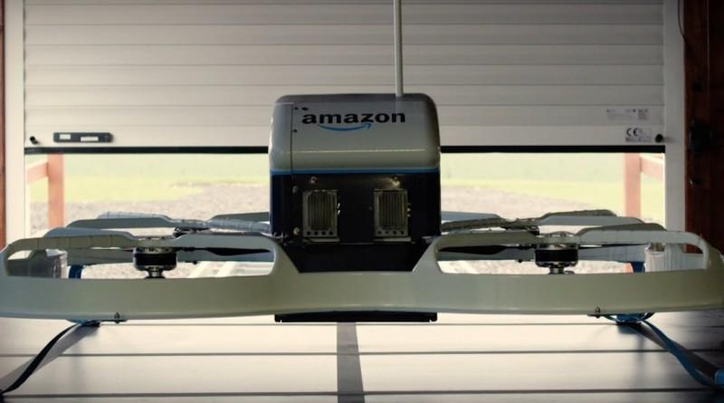 亞馬遜送貨無人機大計陸續有來 Amazon Prime Air 擬天台降落•市區送貨