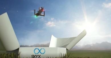 SkyOne 無人機垂直起降自動充電 連飛逾百公里檢查輸油管道
