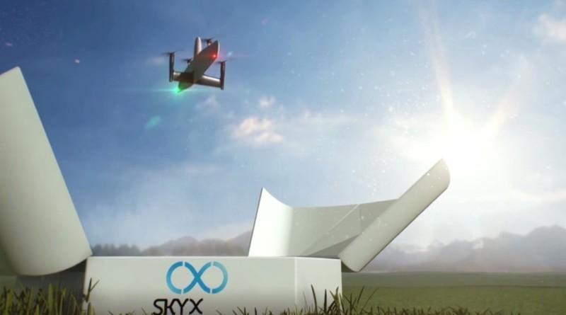 SkyOne 無人機垂直起降 連飛逾百公里檢查輸油管道