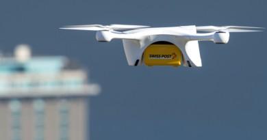 瑞士郵政試用無人機快遞實驗室樣本 2018 年可望成常規送貨服務