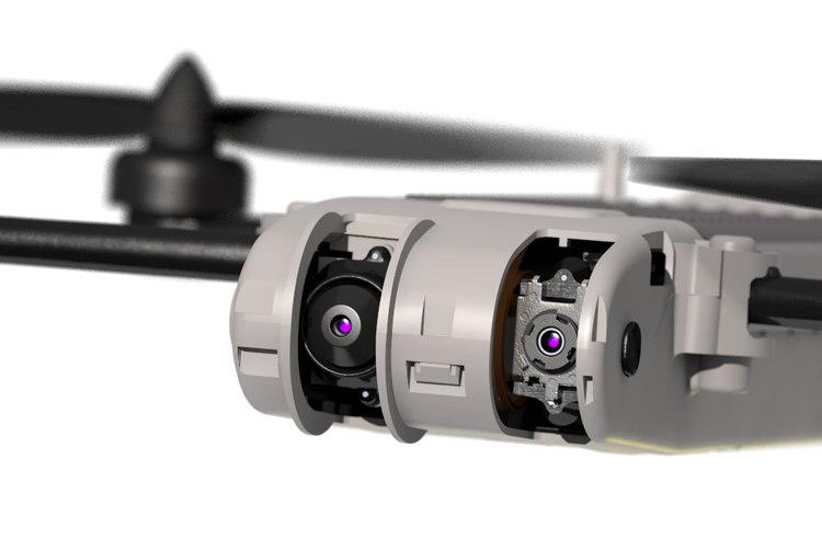 AeroVironment Snipe Nano Quad - 機首紅外線鏡頭
