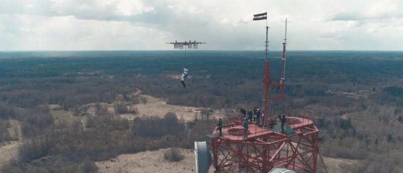 Aerones 無人機跳傘