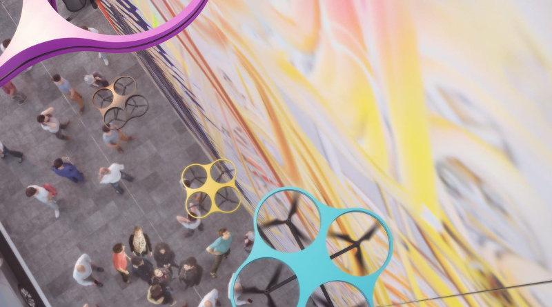 Carlo Ratti Associati - Paint by Drone