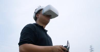 DJI Goggles 搶先試玩後感:FPV 飛行原來要加上體感操作才算合格!
