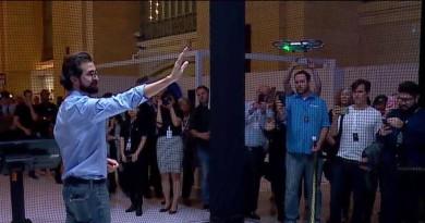 DJI Spark 掌上自拍無人機誕生!起降•空拍全靠手勢操作