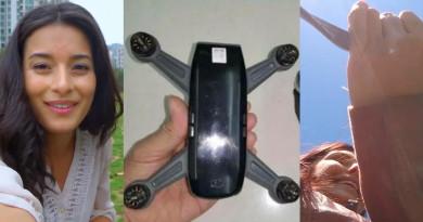 DJI Spark 宣傳影片曝光:小巧無人機方便收納•穿越飛行,畫質有待改善?