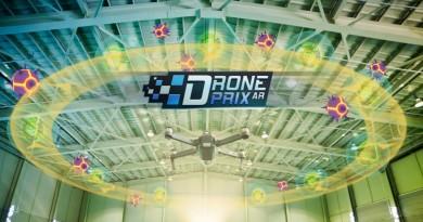 DJI 也推薦的 AR 遊戲:讓 Mavic Pro 穿越 Drone Prix 的虛擬賽道!