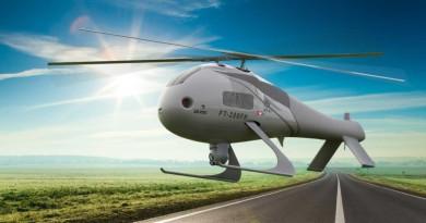 最強無人直升機誕生!FT-200 FH 自動感知避障•識別飛機型號