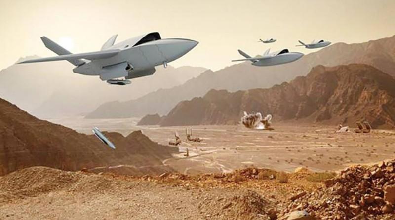 「女武神」XQ-222 兼備長距離、高速度和機動性的特點,能夠獨立或聯合進行打擊任務。