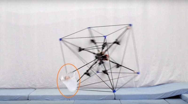 Omnicopter 無人機成功飛身接球了!