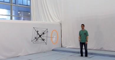Omnicopter 無人機擁有神級接球表現 全靠六自由度瞬間移動能力