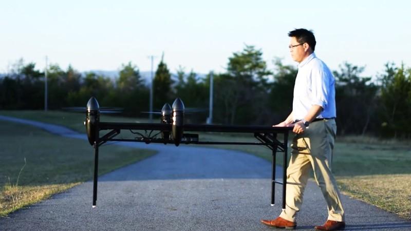 Prodrone PD-ANY - 搬桌子