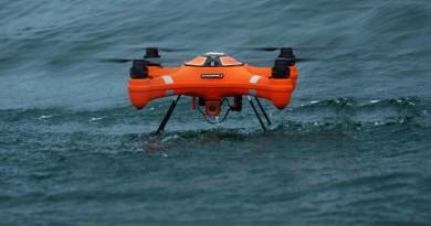 SwellPro Splash Drone 3 讓你飛天下海 空投救生衣•航拍水底世界