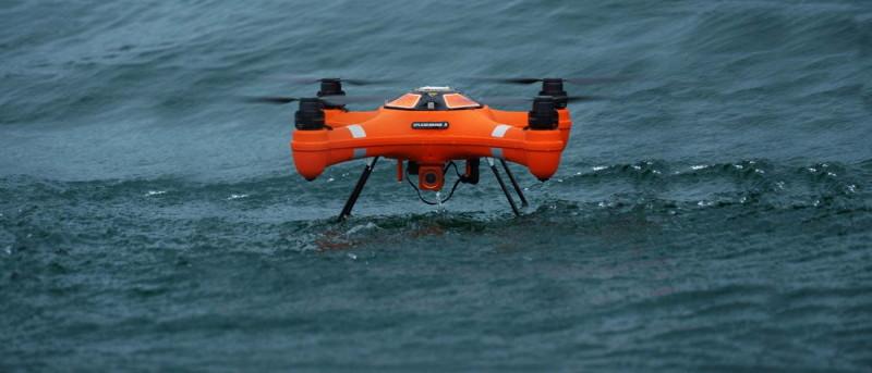 SwellPro Splash Drone 3 Fisherman 在海上