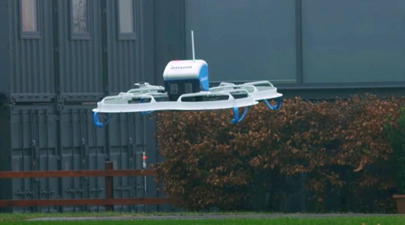 亞馬遜英國增聘 400 科研人員 加強研發 Prime Air 送貨無人機
