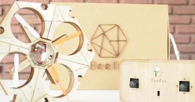 無人機上玩塗色!BEEBOT Drone 全木製作 讓小朋友 DIY 組裝•塗繪